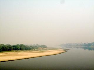 Inde - Agra : derrière le Taj coule une rivière