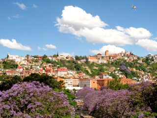 Madagascar - Tananarive : la ville haute