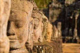 Cambodge - Angkor : entrée d'Angkor Thom