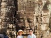 Cambodge - Angkor : la pose touristique au Bayon