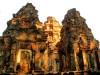 Cambodge - Angkor : groupe des Roluos, Preah Kô