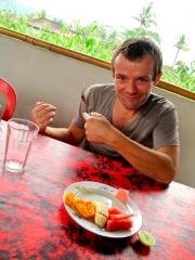 Indonésie - Bali : Sidemen, à notre cantine