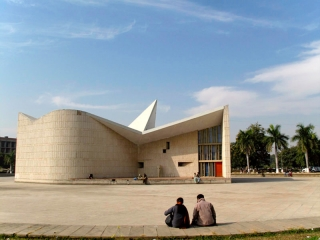 Inde - Chandigarh : Campus universitaire