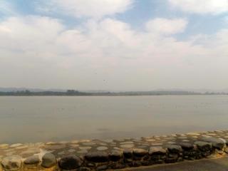 Inde - Chandigarh : Lac Sukhna