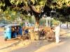Inde - Chandigarh : coiffeur de rue