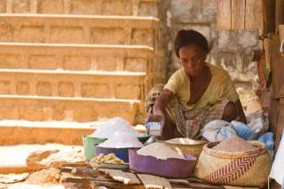 Madagascar - train Manakara : portrait