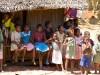 Madagascar - train Manakara : scène de vie