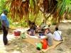 Madagascar - Manakara : canal des Pangalanes (lunch time)