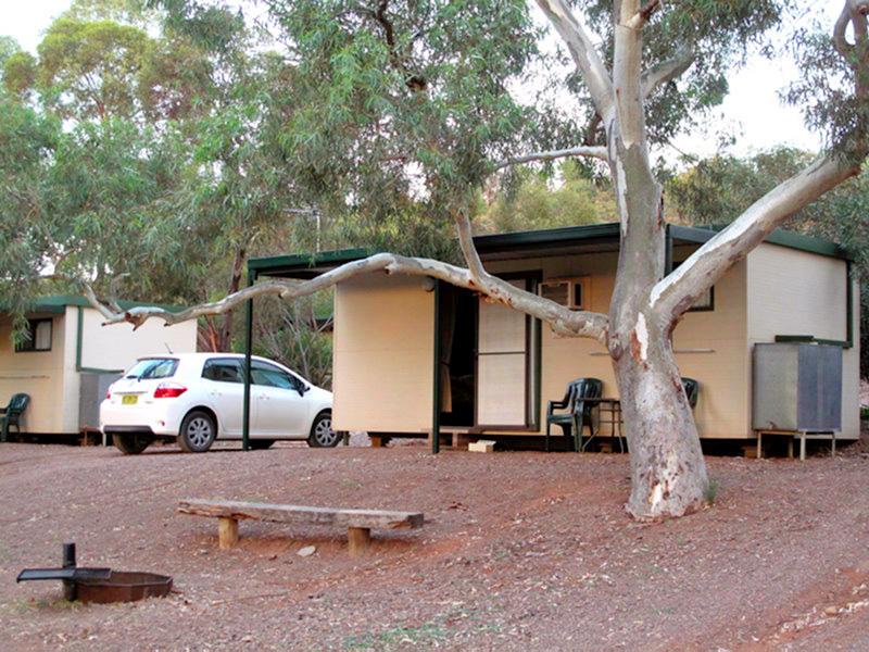 Australie - Flinders Ranges : notre cabine