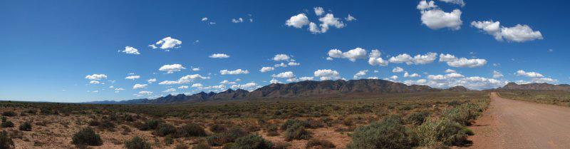 Australie - Flinders Ranges  en piste !
