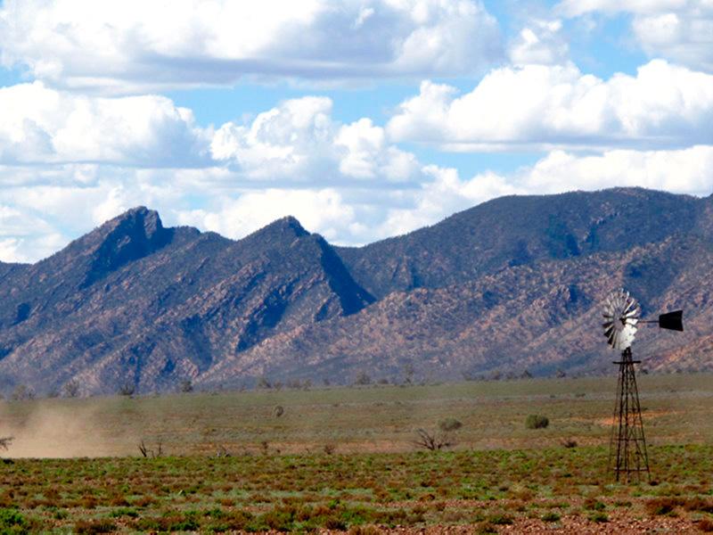 Australie - Flinders Ranges : en piste !