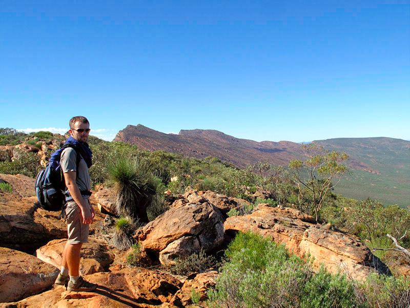 Australie - Flinders Ranges : au sommet