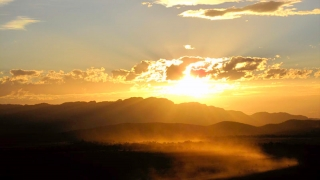 Australie - Flinders Ranges : sunset