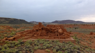 USA - Sunset Crater & Wupatki Indian ruins NP