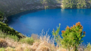 Australie - Mount Gambier : le lac dans le volcan