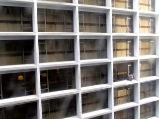 Hong Kong : scène du matin, depuis notre lit