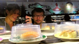 Hong Kong : all you can eat sushis !