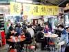 Hong Kong : cantine de marché