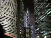 Hong Kong : Central by night