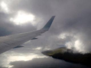 Chili - Ile de Pâques : arrivée dans les nuages