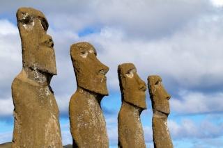 Chili - Ile de Pâques : Ahu A Kivi
