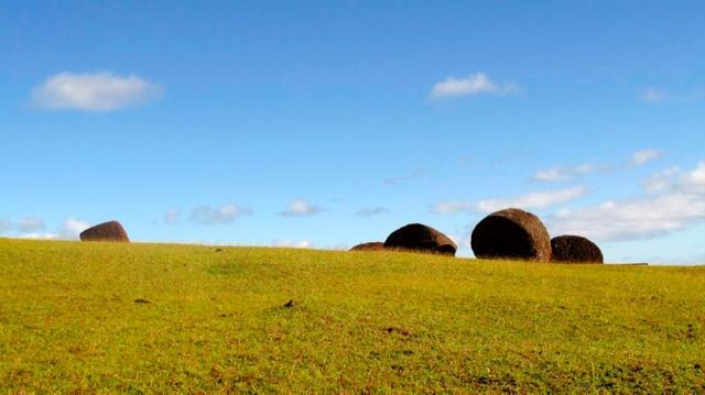 Chili - Ile de Pâques : Puna Pau