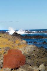 Chili - Ile de Pâques : cote sud-est
