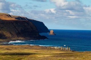 Chili - Ile de Pâques : Tongariki