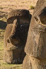 Chili - Ile de Pâques : Rano Raraku