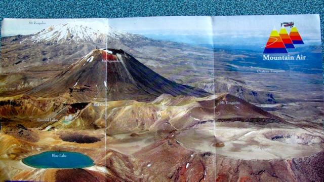 Nouvelle Zélande - ce que l'on aurait dû voir au Parc national Tongariro