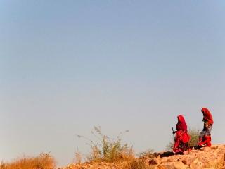 Inde - Jodhpur : femmes au Fort