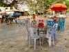Cambodge - Kompong Cham : scène de rue
