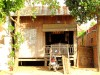 Cambodge - Kompong Cham : maison tradi