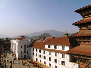 Népal - Katmandou : Durban Square