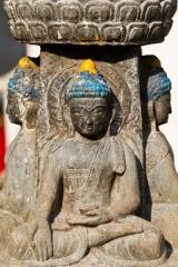 Népal - Katmandou : sculpture