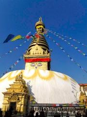 Népal - Swayambhunath : stupa