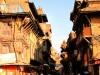 Népal - Bhaktapur : scène de rue