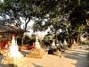 Népal : Swayambhunath : ascension vers le temple