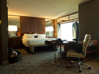USA - Las Vegas : la chambre au MGM Grand