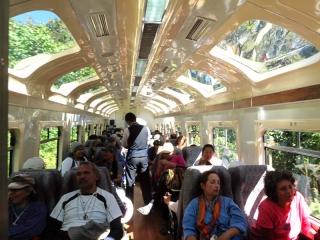 Pérou - train pour le Machu Picchu