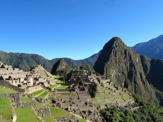 Pérou - Machu Picchu : arrivée sur le site