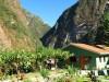 Pérou - Aguas Calientes : arrivée à la gare