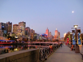 Australie - Melbourne : au sunset