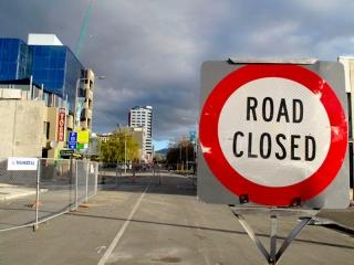 Nouvelle Zélande - Christchurch : centre-ville