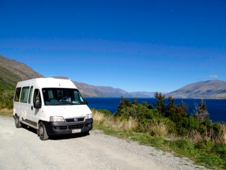 Nouvelle Zélande - on the road : Lake Tekapo