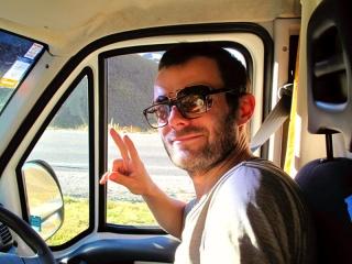 Nouvelle Zélande - on the road : Benjamin... la classe à quadruple foyers !