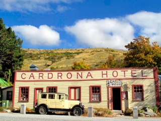 Nouvelle Zélande - descente sur Wanaka : Cardrona