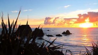 Nouvelle Zélande - Tauranga Bay : sunset