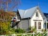 Nouvelle Zélande - Péninsule de Banks : Akaroa, maison tradi