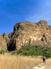 Madagascar - Isalo : en chemin vers les canyons